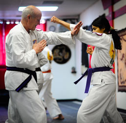 Marture Karate Interaction
