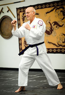 Mature Karate Ready